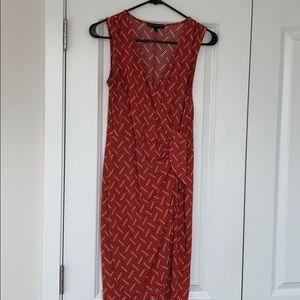 Banana Republic Faux wrap front dress